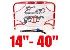 """Hokejové brány malé, velikost 14 """"- 40"""""""