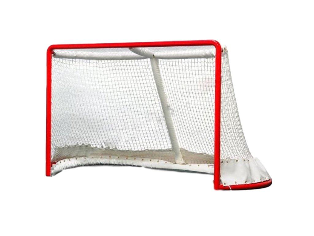 hokejová branka, hokejová brána oficiálních rozměrů, oficiální hokejová brána určená na hokejové zápasy, brána na zápasy 7