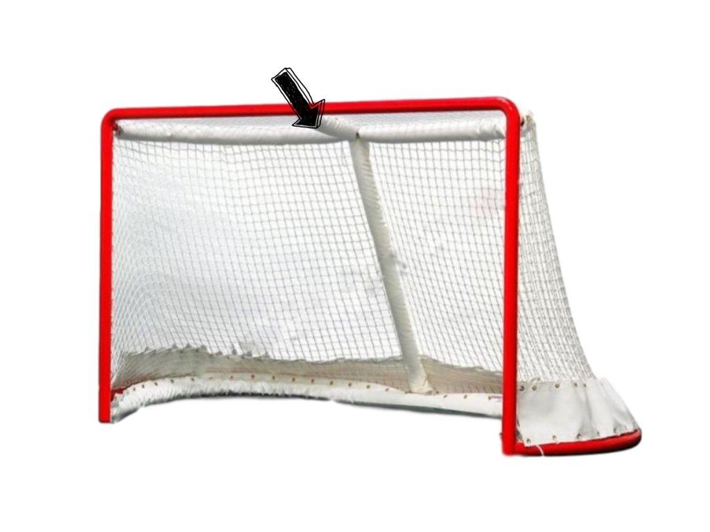 Chránič horní vodorovné vzpěry hokejové bránky
