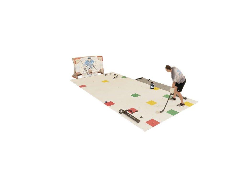 tréningová zóna, hokejová zóna, hokejovy set, hokej, trening, hokejova podlaha, treningova podlaha, synteticky lad