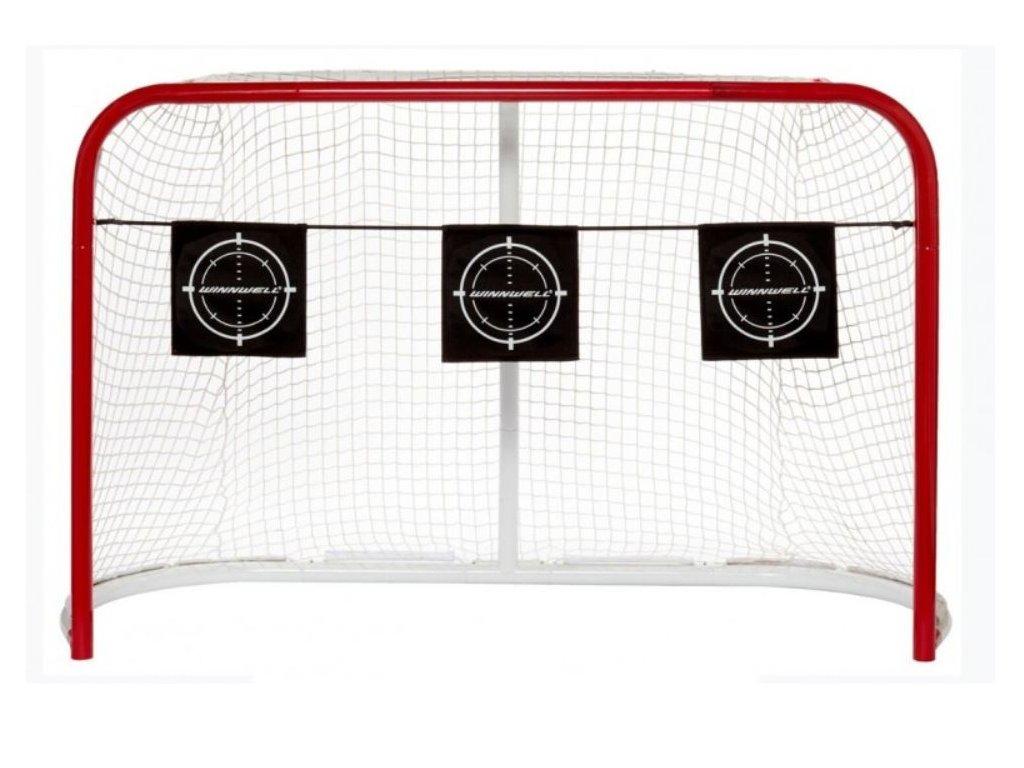 střelecký terč na puky, střelecký terčš na míčky, terč na puky, 3ks terč do hokejové brány, terč do brány, hokejový trénink