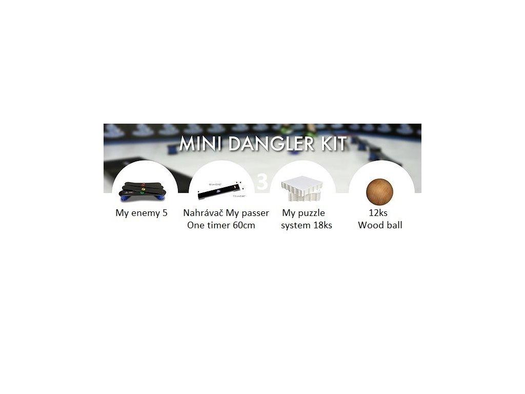3.mini dangler kit cz, my enemy, 3.mini dangler kit, 3.mini dangler kit, hockey revolution, hokejová podlaha, hokej, trening, tréninkové míček, wood ball, hokejový Tréninkový set