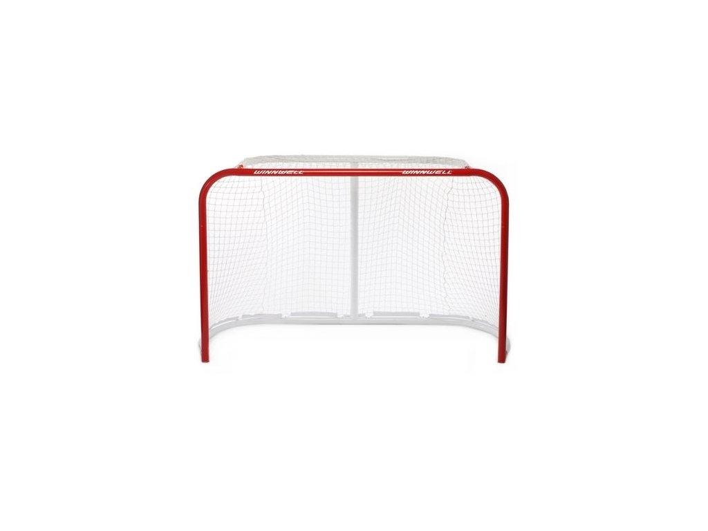 """Hokejová branka se sítí na suchý zip - Winnwell QuikNet 72"""", hokejová brána, hokejový puk, střelecká deska, hokejová deska, hokejová podlaha, hokejový puk, hokejový trénink"""