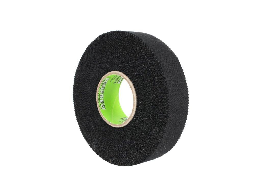 Páska na hokejku Renfrew 25m černá barva, hokejový trénink, hokejová míček, hokejový puk, střelecká deska, hokejová podlaha, hokejová brána, sušák hokejové výstroje, chránič zubů, tkaničky do bruslí, střelecká plachta, střelecký terč, my enemy, trénink techniky s pukem