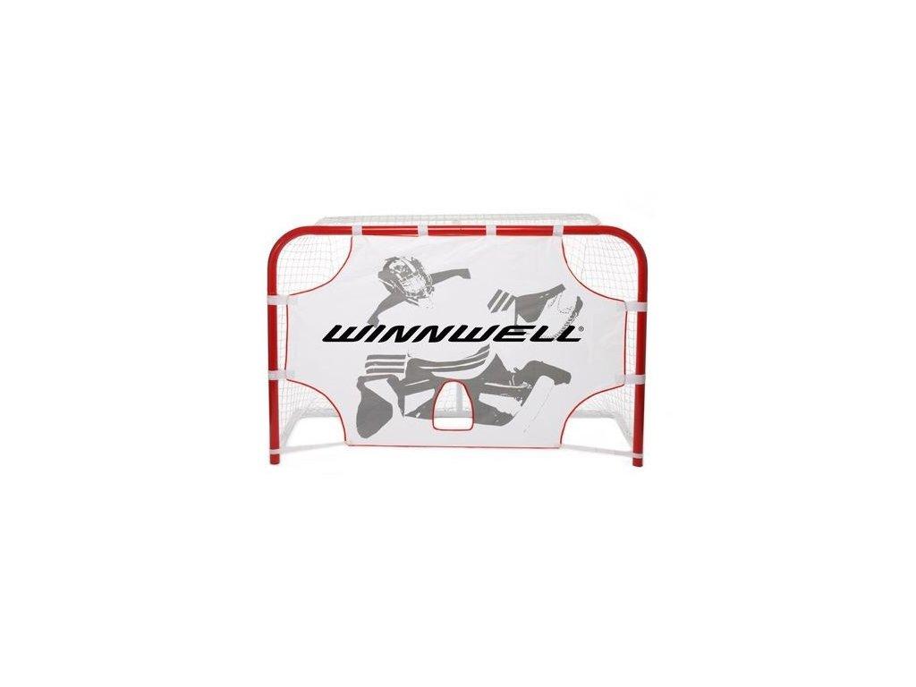 """Střelecká plachta na míčky Winnwell 54"""",hokejový trénink, hokejová míček, hokejový puk, střelecká deska, hokejová podlaha, hokejová brána"""