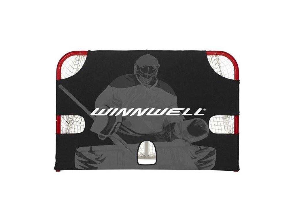 """Střelecká plachta Winnwell 72"""" Accushot Heavy Duty, hokejový trénink, hokejová brána, hokejový puk, hokejová míček, nahrávač, střelecká deska, hokejová podlaha, hokejovy trenibk, brana na trenink, hokejova brana odolna na trenink"""