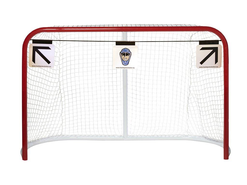 Střelecké terče Hockey Revolution MY TARGET 3ks, hokejový trénink, hokejová míček, hokejový puk, střelecká deska, hokejová podlaha, hokejová brána
