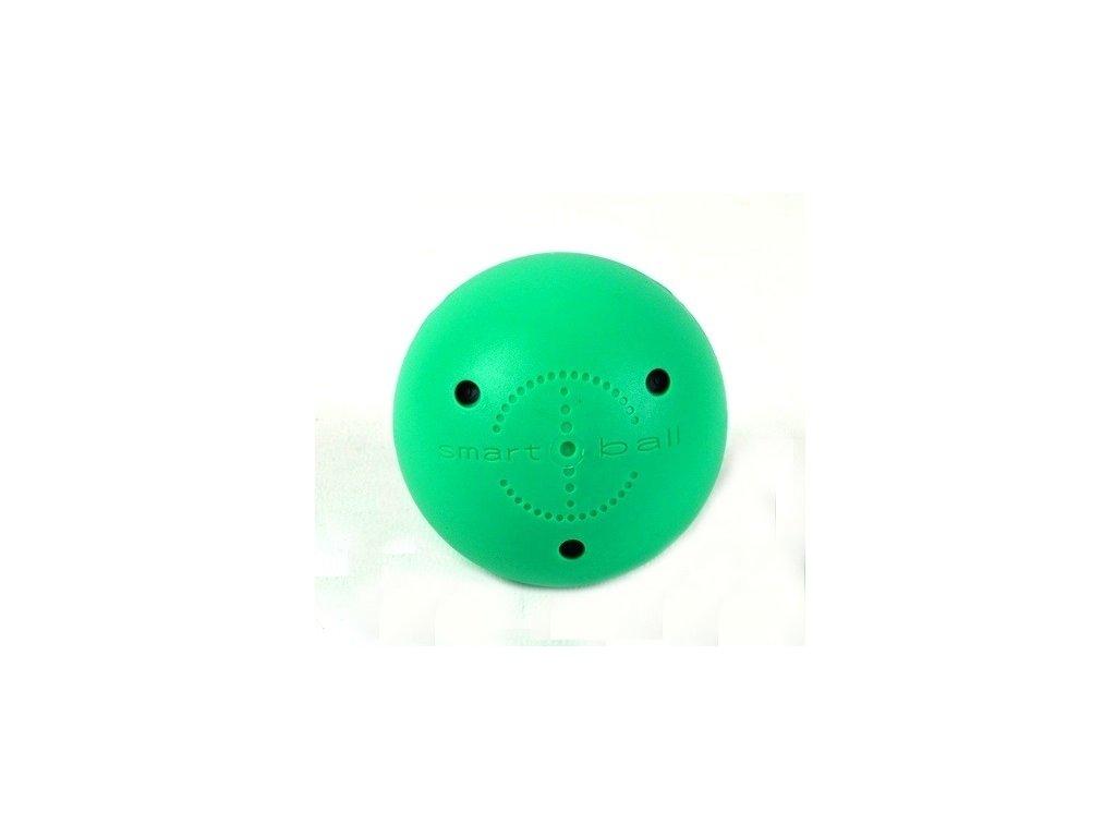 Tréninkový míček Smart Ball zelený, hokejový trénink, hokejová míček, hokejový puk, střelecká deska, hokejová podlaha, hokejová brána, sušák hokejové výstroje, chránič zubů, tkaničky do bruslí, střelecká plachta, střelecký terč, my enemy, trénink techniky s pukem