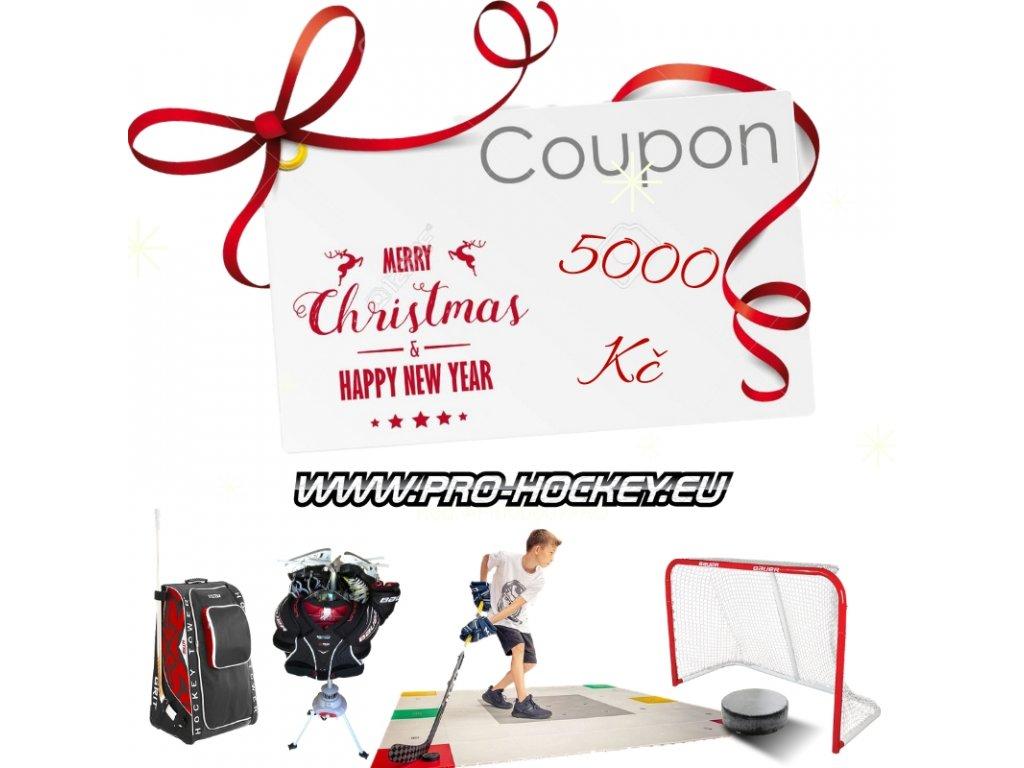 vianocny kupon, kupon na darky, vianocna poukázky, poukázky pro hokejisty, dárek pro hokejisty, hokejový darek