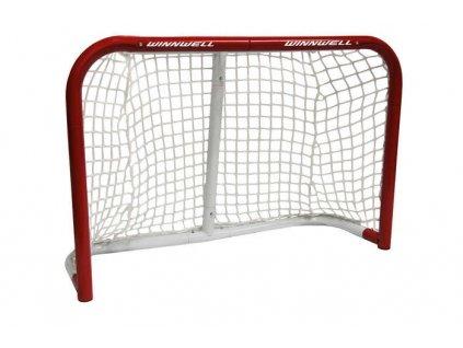 """Hokejová branka WinnWell Mini Heavy Duty 36"""", hokejový trénink, hokejová brána, hokejový puk, hokejová míček, nahrávač, střelecká deska, hokejová podlaha"""