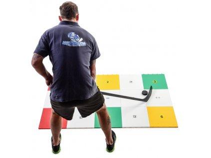 Hokejová podlaha MY puzzle, střelecká deska, hokejový trenink