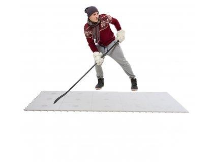 hokejová podlaha, střelecká deska, hokejový trénink