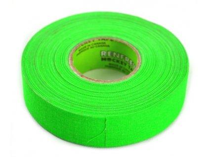 Páska na hokejku Renfrew 25m neonově zelená barva, hokejový trénink, hokejová míček, hokejový puk, střelecká deska, hokejová podlaha, hokejová brána, sušák hokejové výstroje, chránič zubů, tkaničky do bruslí, střelecká plachta, střelecký terč, my enemy, trénink techniky s pukem