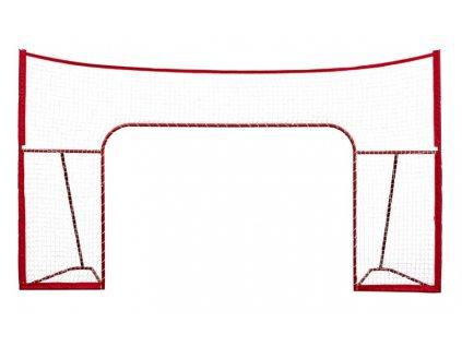 """Postranní síť Winnwell 72"""" s pevnou kovovou konstrukcí, hokejový trénink, hokejová míček, hokejový puk, střelecká deska, hokejová podlaha, hokejová brána"""