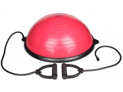 Balanční míč BBT červená, hokejový trénink, hokejová míček, hokejový puk, střelecká deska, hokejová podlaha, hokejová brána, sušák hokejové výstroje, chránič zubů, tkaničky do bruslí, střelecká plachta, střelecký terč, my enemy, trénink techniky s pukem
