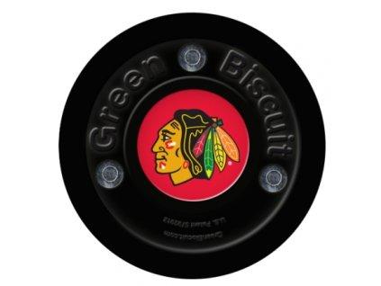 Stickhandling PUK - GREEN BISCUIT CHICAGO BLACKHAWKS, hokejový trénink, hokejová míček, hokejový puk, střelecká deska, hokejová podlaha, hokejová brána, sušák hokejové výstroje, chránič zubů, tkaničky do bruslí, střelecká plachta, střelecký terč, my enemy, trénink techniky s pukem