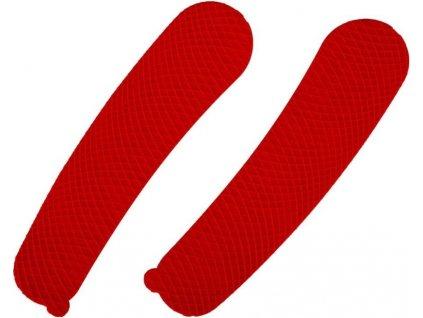 Blade Tape červená, hokejový trénink, hokejová míček, hokejový puk, střelecká deska, hokejová podlaha, hokejová brána, sušák hokejové výstroje, chránič zubů, tkaničky do bruslí, střelecká plachta, střelecký terč, my enemy, trénink techniky s pukem