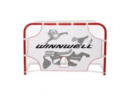 """Střelecká plachta na míčky Winnwell 60"""", hokejový trénink, hokejová míček, hokejový puk, střelecká deska, hokejová podlaha, hokejová brána"""