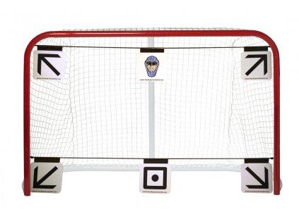 Střelecké terče Hockey Revolution MY TARGET 6ks, hokejový trénink, hokejová míček, hokejový puk, střelecká deska, hokejová podlaha, hokejová brána