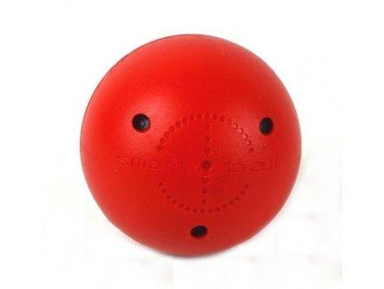 Tréninkový míček Smart Ball červený, hokejový trénink, hokejová míček, hokejový puk, střelecká deska, hokejová podlaha, hokejová brána, sušák hokejové výstroje, chránič zubů, tkaničky do bruslí, střelecká plachta, střelecký terč, my enemy, trénink techniky s pukem