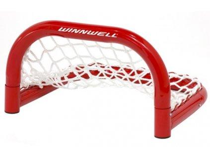 """Tréninková mini branka WinnWell Skill Net 14"""", hokejový trénink, hokejová brána, hokejový puk, hokejová míček, nahrávač, střelecká deska, hokejová podlaha"""