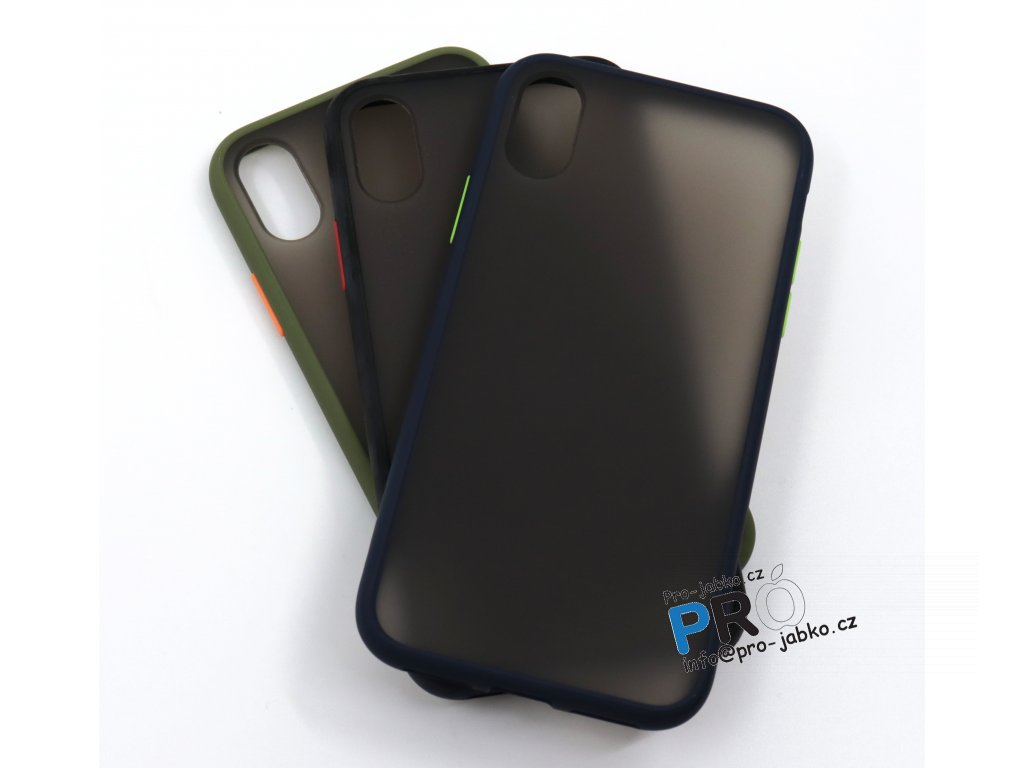 Silikonový TPU čirý kryt Ranipobo pro iPhone X