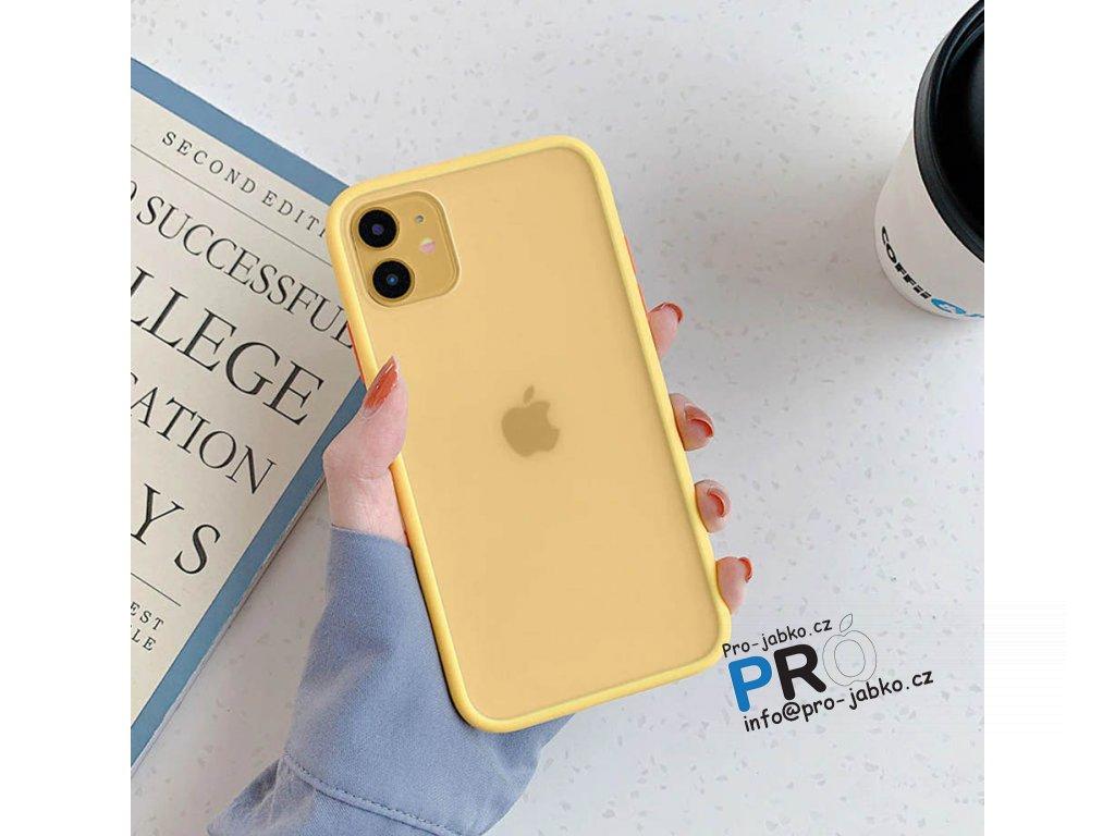 Silikonový TPU čirý kryt Ranipobo pro iPhone XR