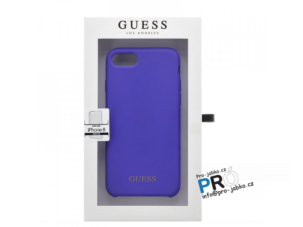 Guess 7 8 silicone purple3 min