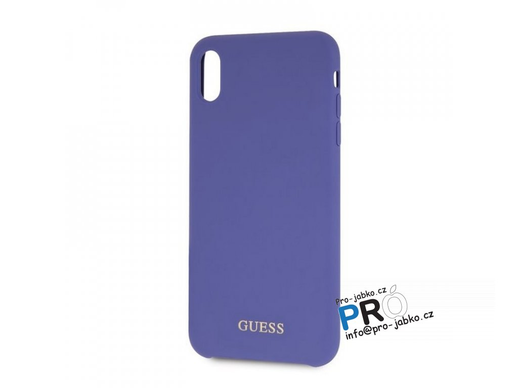 Guess XR silicone purple min (1)