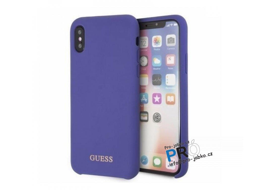Guess iX silicone purple min
