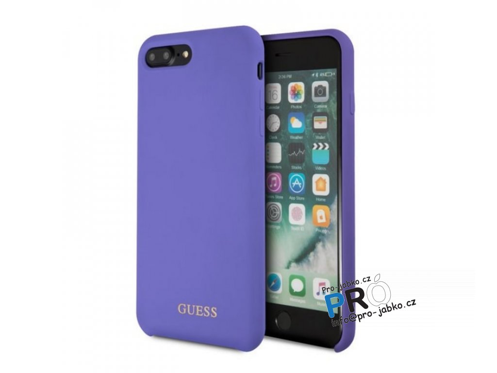 guess i7 8Plus silicone purple min