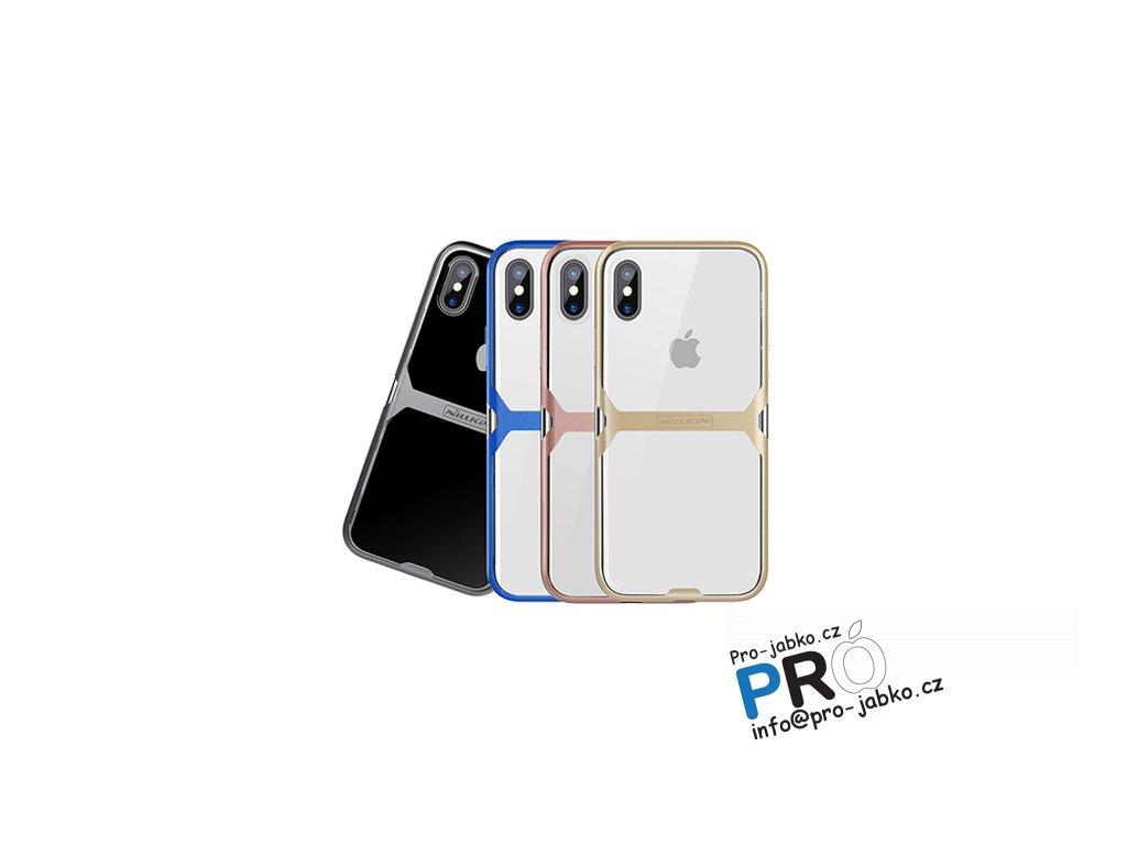 Nillkin Crystal TPU zadní kryt pro iPhone X/Xs (Barva Modrá)
