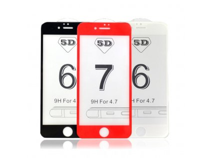 IPS 5D Glass ochranné sklo pro iPhone 6 / 6S