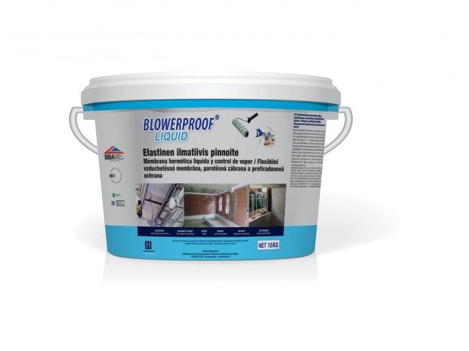 BlowerproofLiquid bucket FIN wit