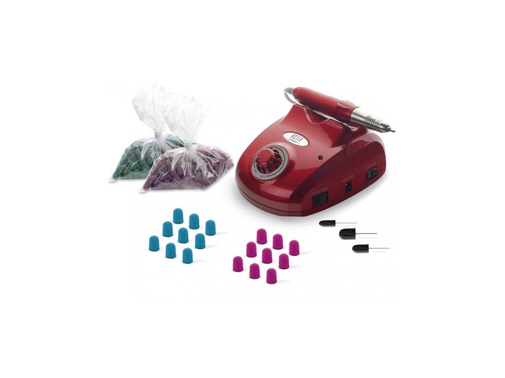 sestava 83 freza active power cervena kloboucky a nastavce vip 10379