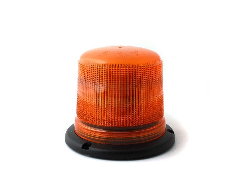 Oranžový maják s 3-bodovým úchytem, 15 LED, B18-3B-A