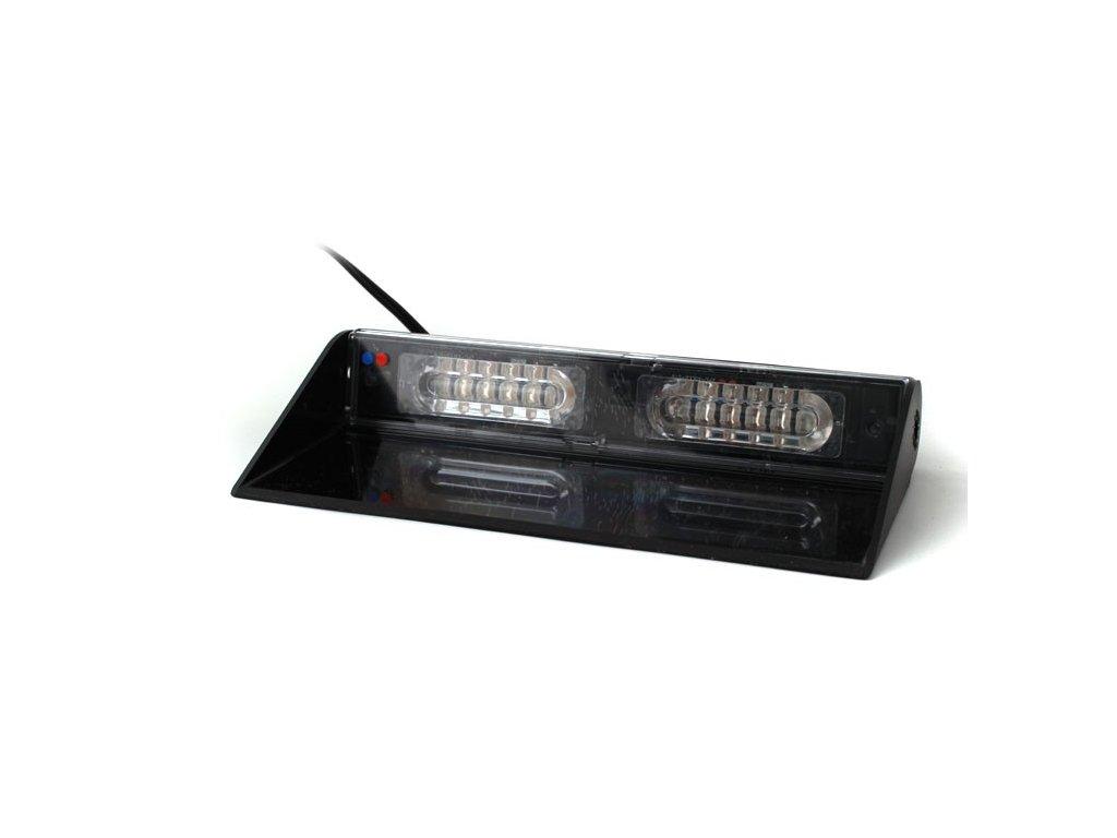 Interiérové výstražní světlo, 12x LED, červené / modré MMAX12-RB
