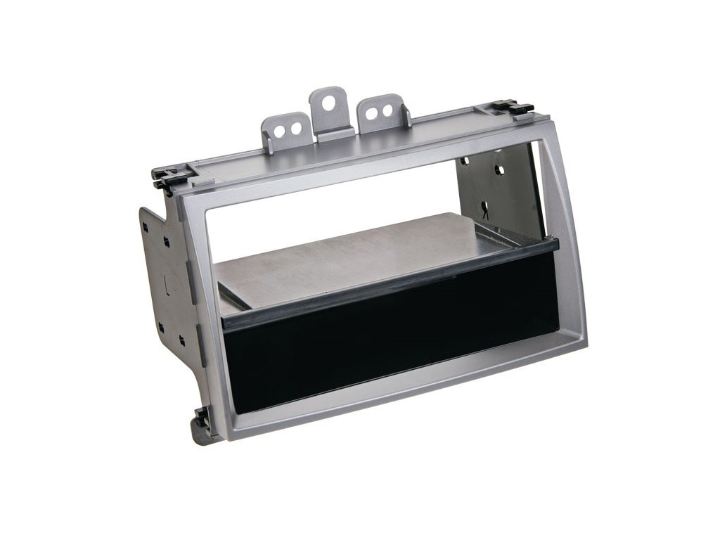 Plastový rámeček 1DIN, Hyundai i20, stříbrná PF-2453 2