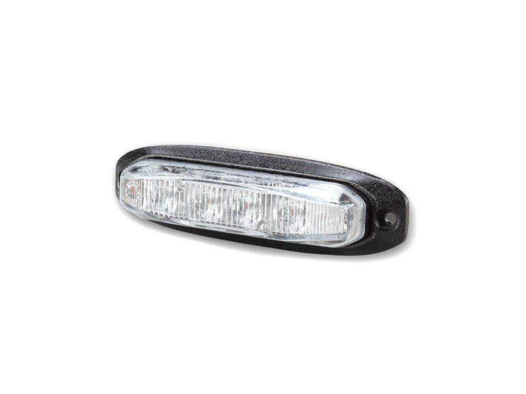 Poziční výstražné LED světlo, 12-24V, R65, modré, 911X6-B