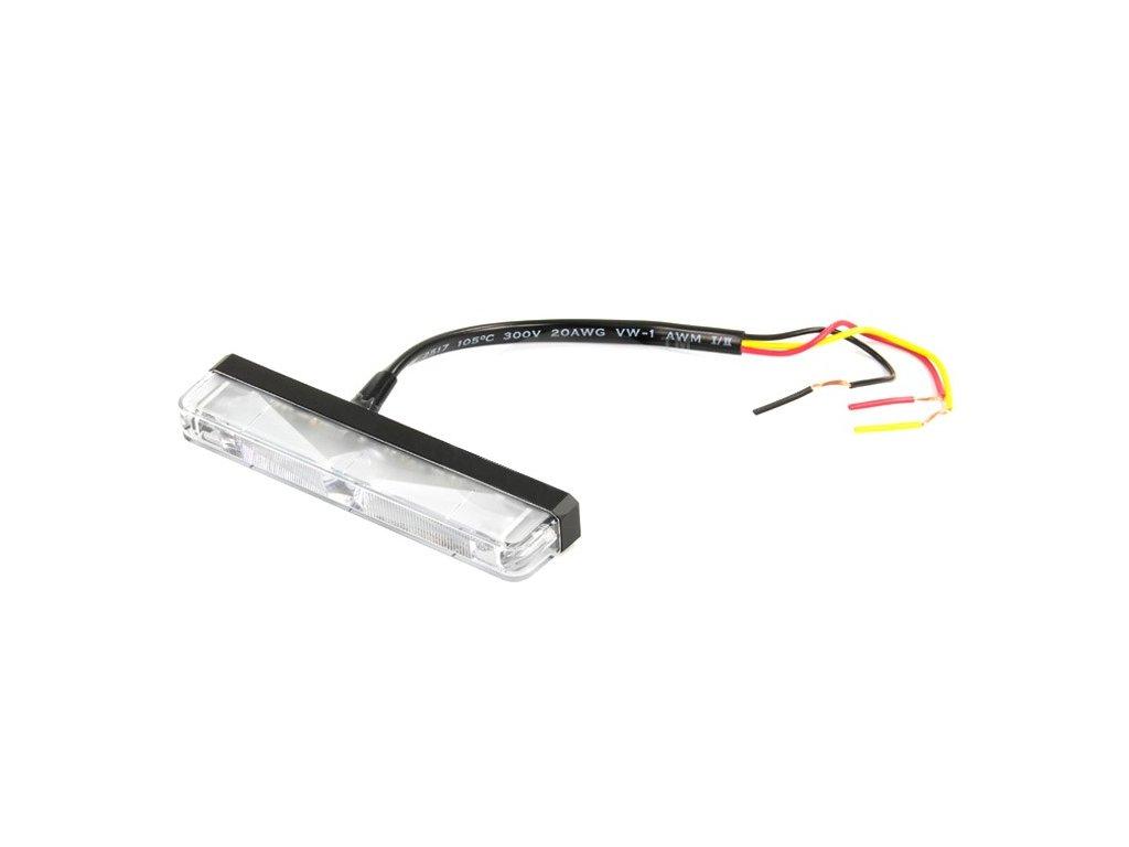 Poziční výstražné světlo, 3 LED, 12-24V, oranžové ES3-A