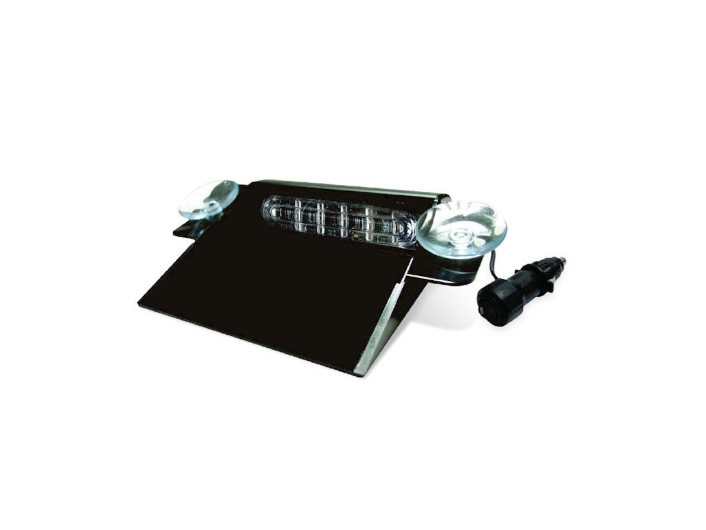Interiérové výstražní světlo,6x LED, červené / modré TD6-RB