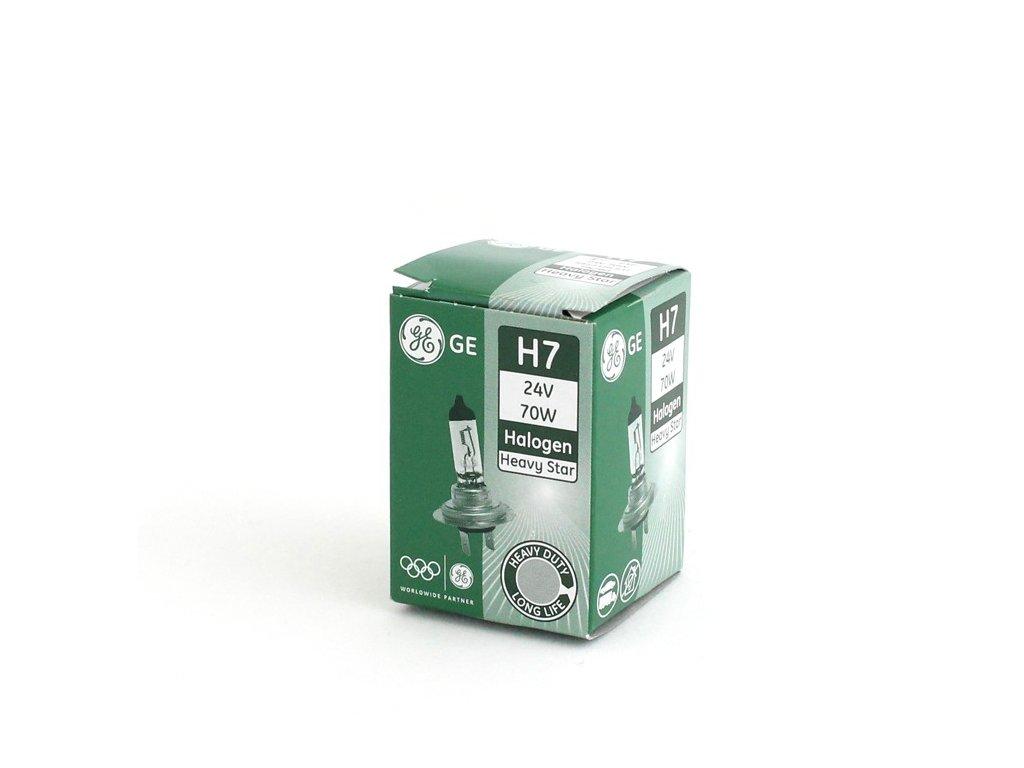Halogenová žárovka Heavy Star GE H7-HS 24V