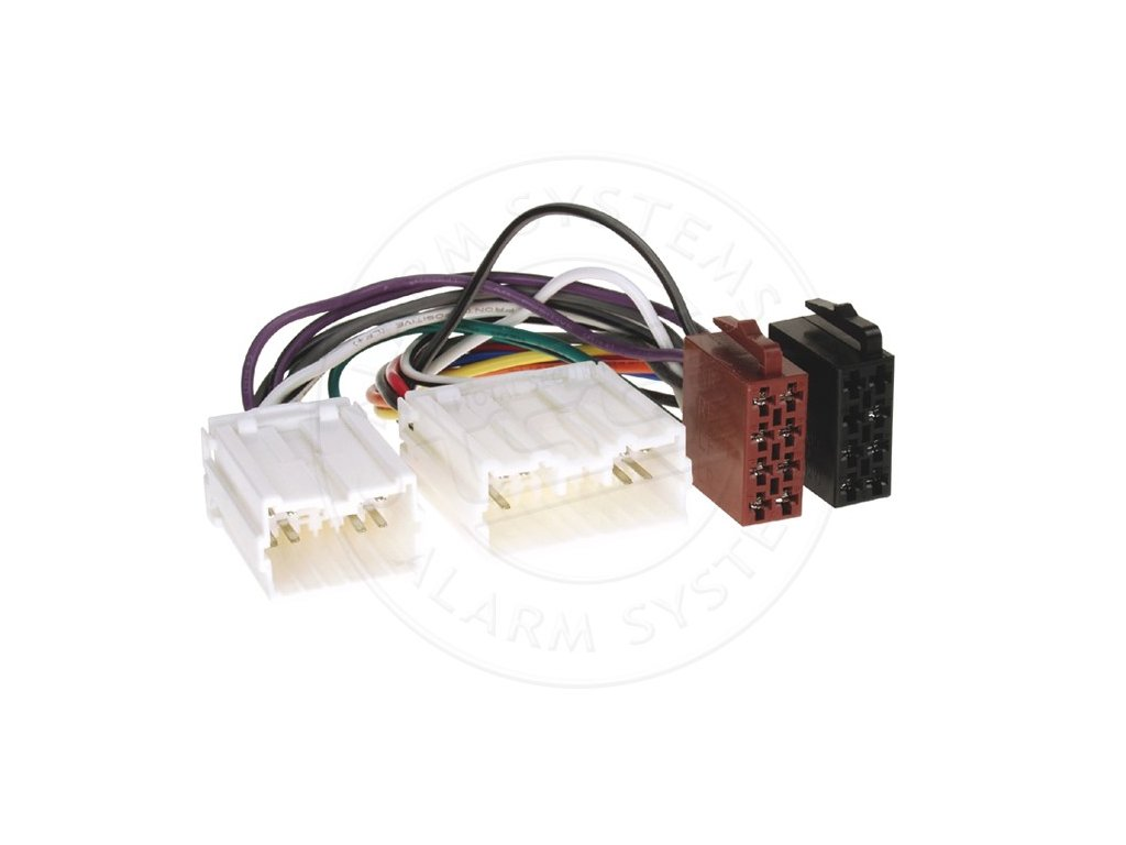 ISO adaptér pro autorádia Volvo RISO-082