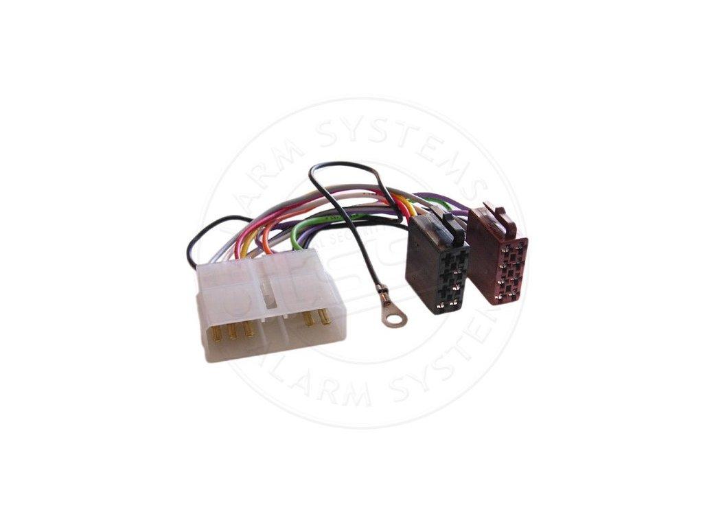 ISO adaptér pro autorádia Opel / Isuzu RISO-064