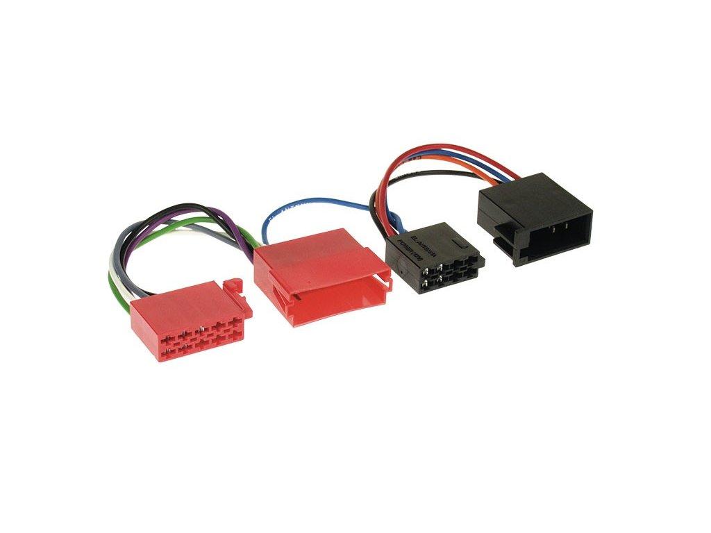 ISO Adaptér 10PIN pro aktivní audio AUDI, VW RISO-153