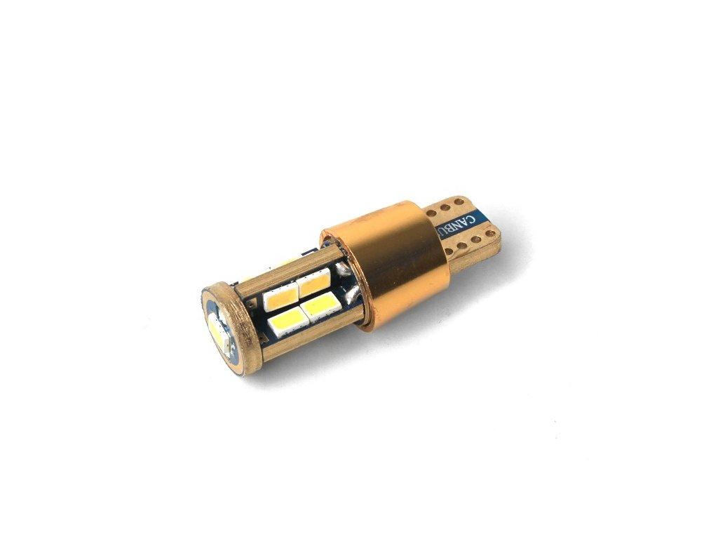 LED žárovka T10, 450lm, canbus, bílá, 2 ks  LED T10 13-450