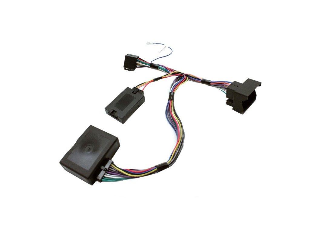 SWC adaptér BMW 3, 5, X5, aktívní audio, oem senzory SWC BMW 07