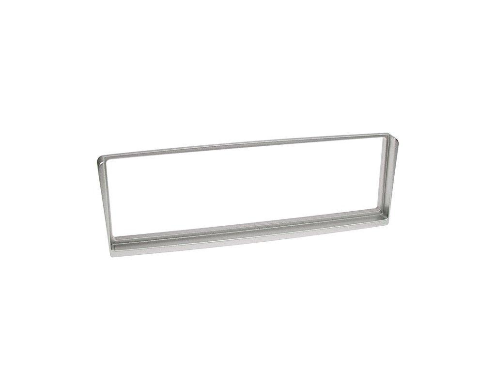 Plastový rámeček 1DIN, ALFA ROMEO 156 - stříbrná PF-2067