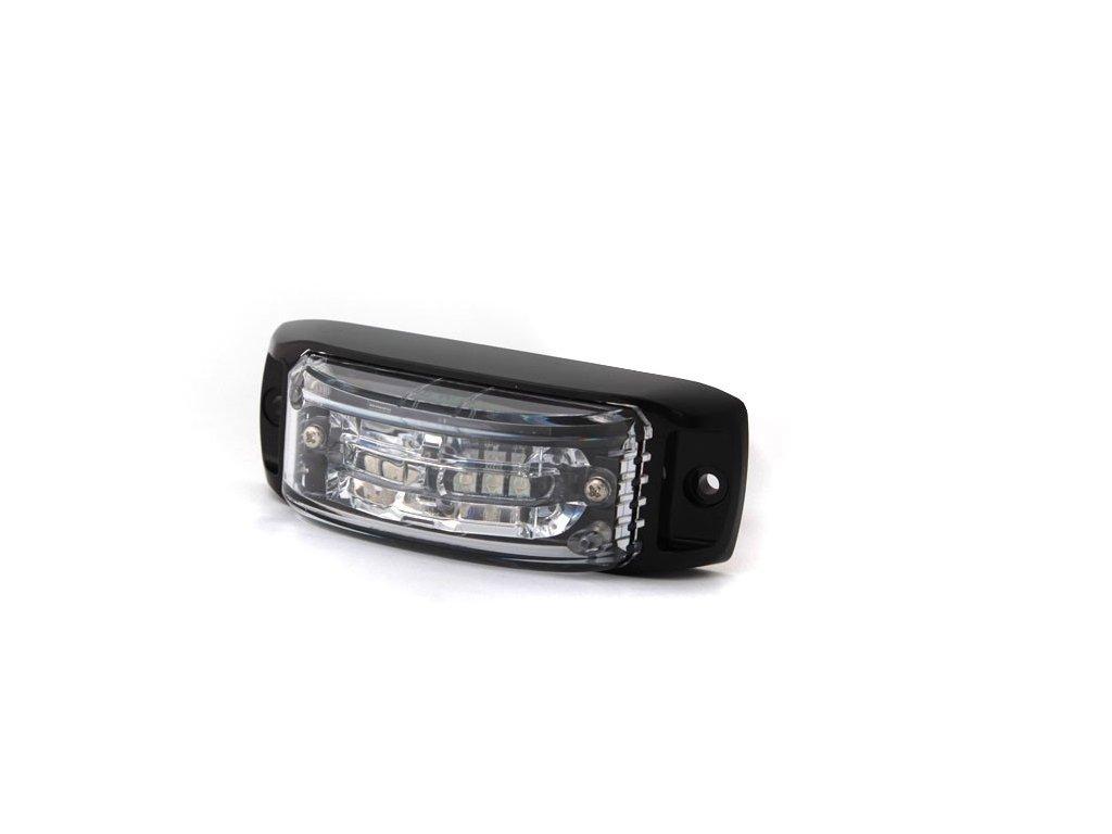 Poziční výstražné světlo, 6 LED, 12-24V, R65, modré AL6-B