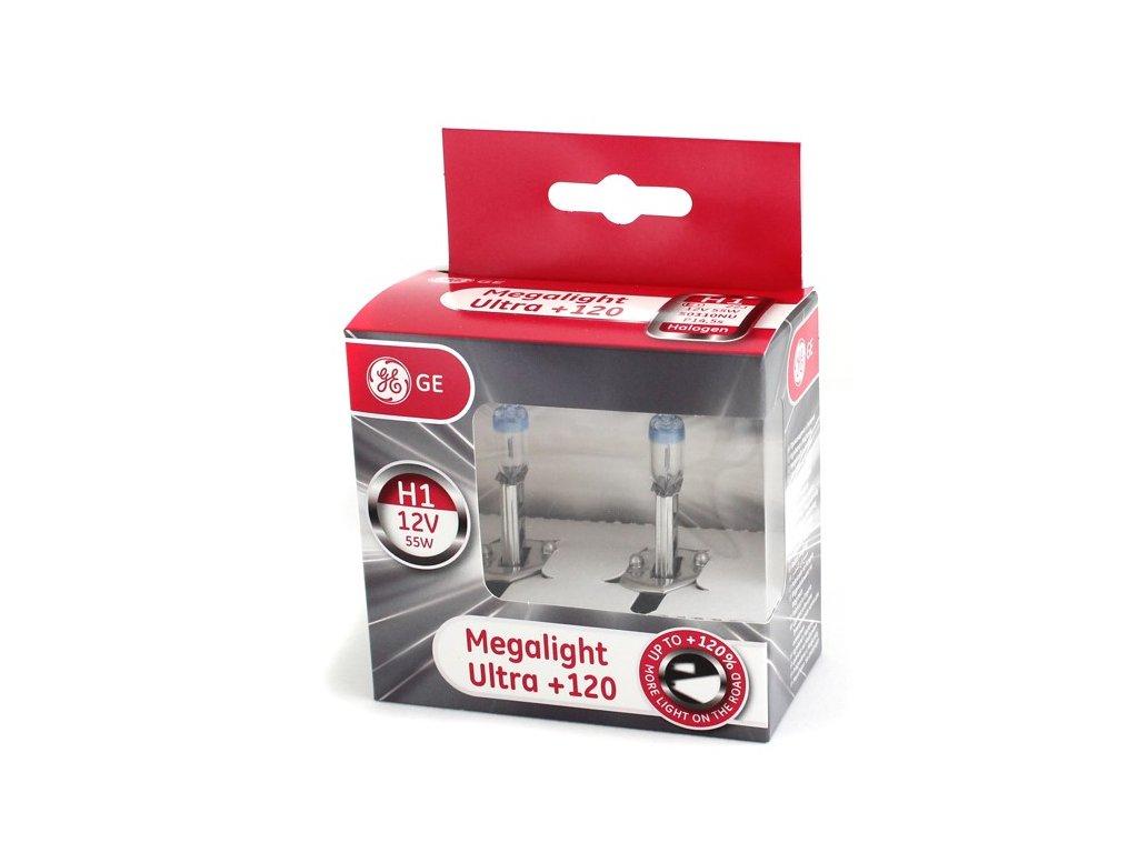 Halogenová žárovka Megalight Ultra GE H1-MU120